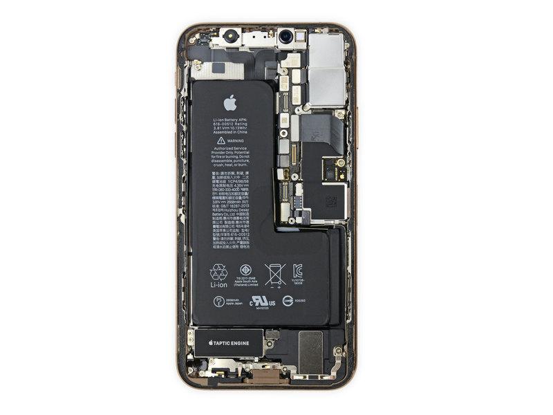 iFixit разобрали iPhone XS и XS Max