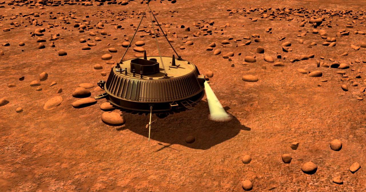 Как «Гюйгенс» на Титан садился