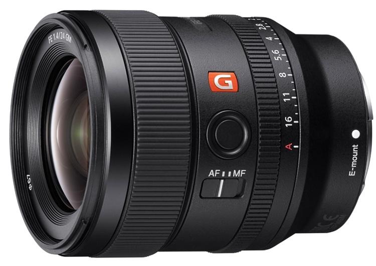 Объектив Sony 24mm F1.4 G Master рассчитан на полнокадровые камеры