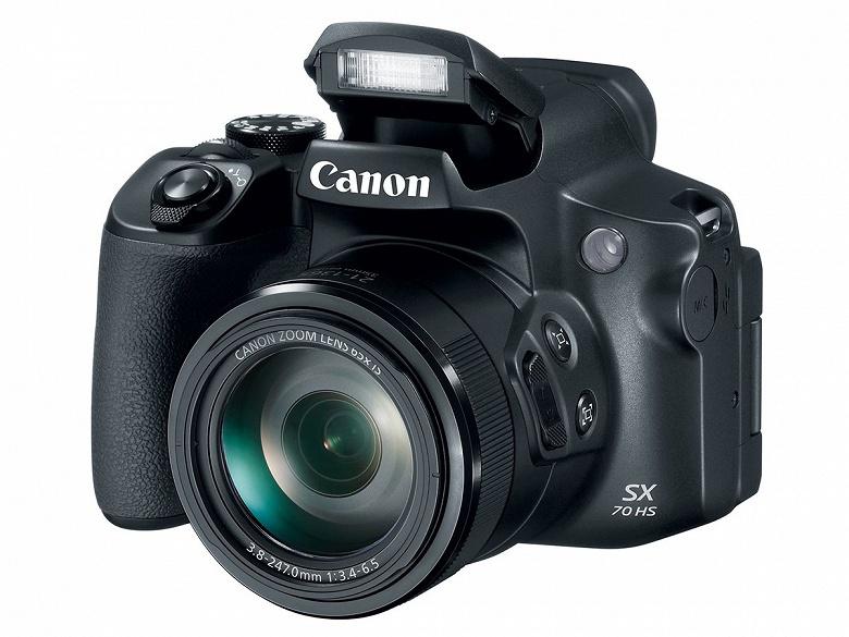 Суперзум Canon PowerShot SX70 HS унаследовал объектив своего предшественника