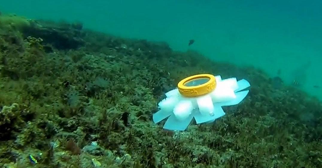 В США создан робот-медузоид