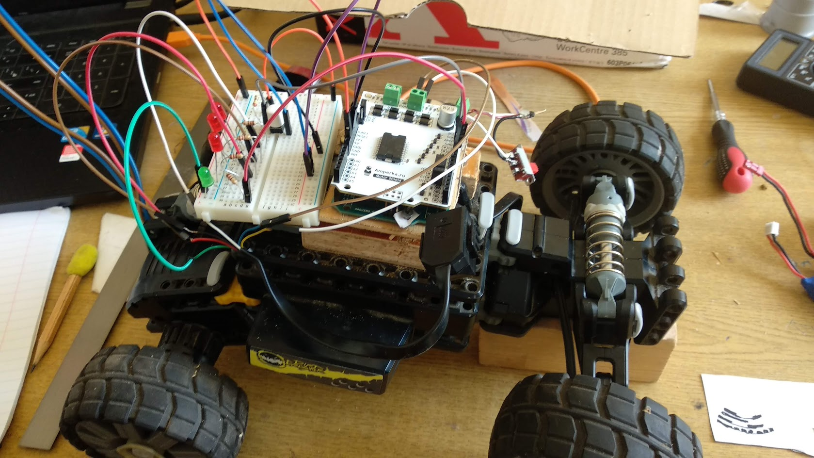 Машинка на Arduino, управляемая Android-устройством по Bluetooth, — полный цикл (часть 1) - 8