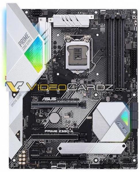 Опубликованы изображения 26 моделей системных плат ASRock, MSI и Asus, построенных на чипсете Intel Z390