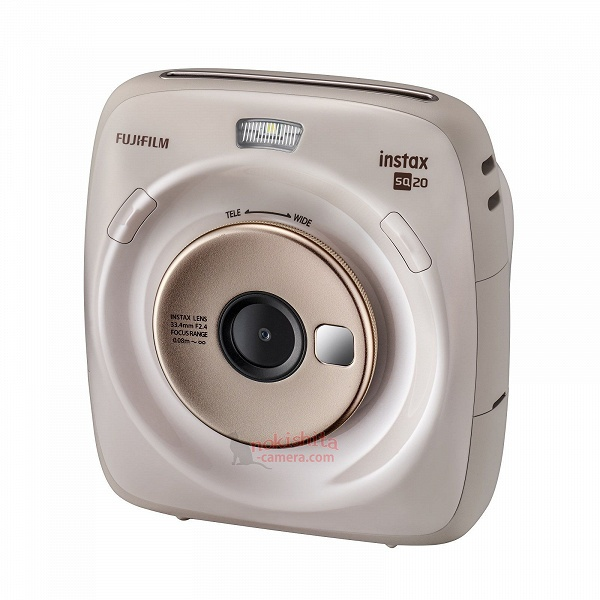 Появились первые сведения о камере моментальной фотографии Fujifilm Instax Square SQ 20
