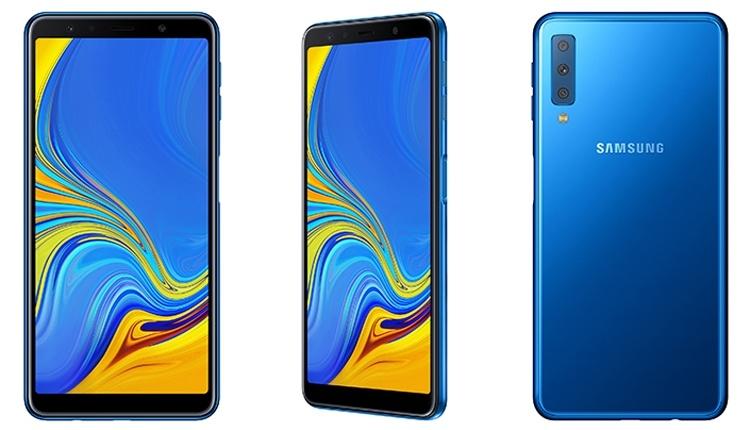 Дебют первого смартфона Samsung с тройной камерой: 24 Мп +  8 Мп + 5 Мп
