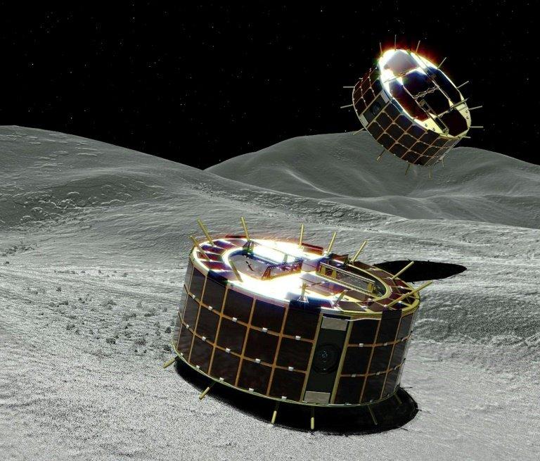 Осуществлена посада на астероид Рюгу