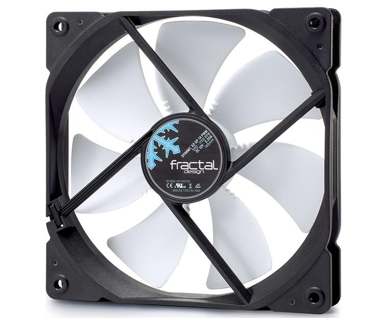Вентиляторы Fractal Design Dynamic X2 PWM доступны в версиях размером 120 и 140 мм