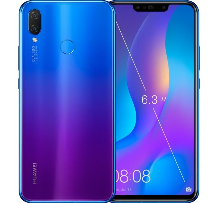 Смартфон Huawei Nova 3i представлен в версии с увеличенным объёмом памяти