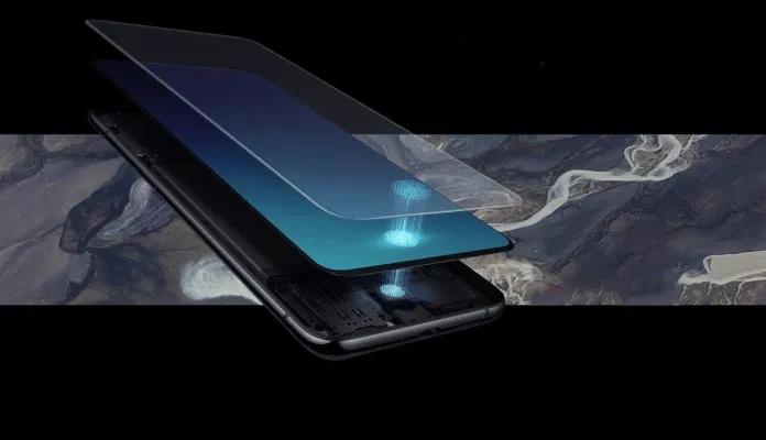 Samsung Galaxy P30 — первый смартфон производителя с подэкранным сканером отпечатков пальцев