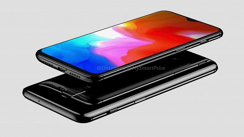 Флагманский смартфон OnePlus 6T красуется на видео со всех сторон