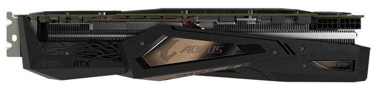 Тюнинг для Turing: карта Gigabyte Aorus GeForce RTX 2080 Xtreme 8G оснащена семью видеовыходами