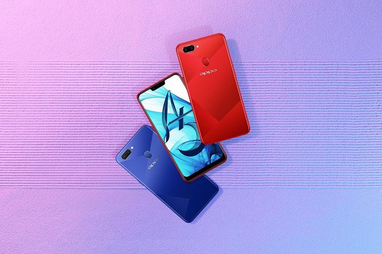 В России стартуют продажи Oppo A5 — смартфона с емким аккумулятором и двойной основной камерой
