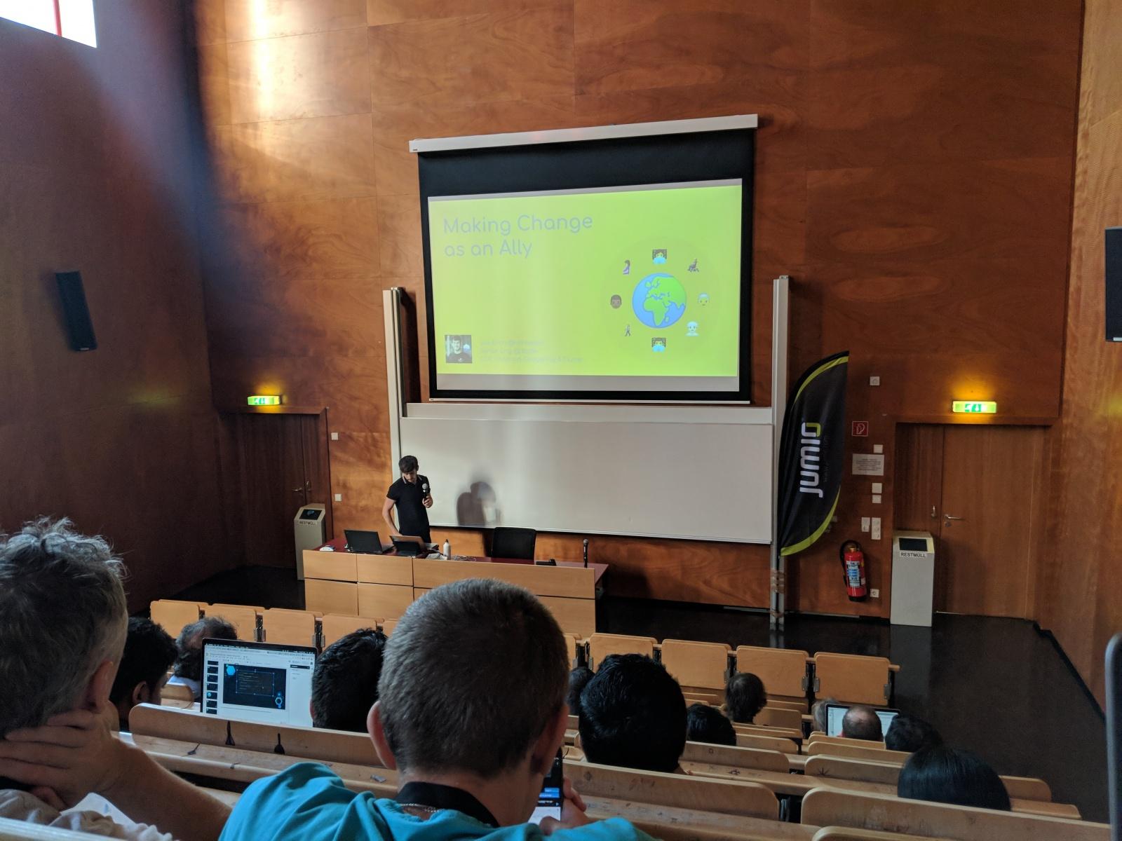 Обзор конференции droidcon Vienna - 1