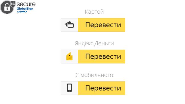 Прием платежей с карты без юр. лица на Яндекс.Деньги - 1