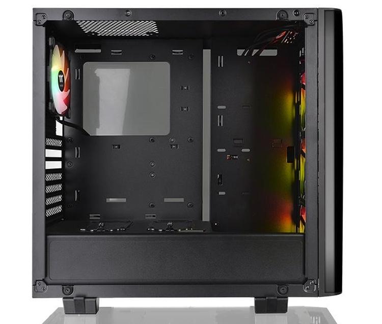 Thermaltake View 21 Tempered Glass RGB Plus Edition: корпус Mid Tower для игрового ПК