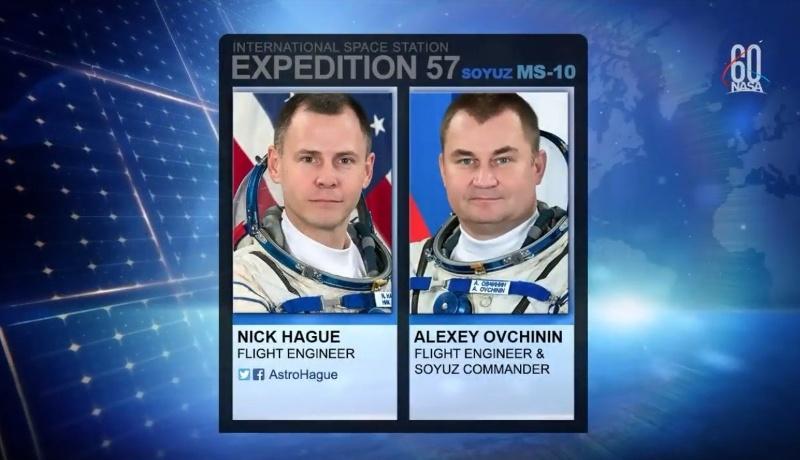 Аварийный пуск «Союз МС-10» (экипаж спасен, трансляция окончена) - 1