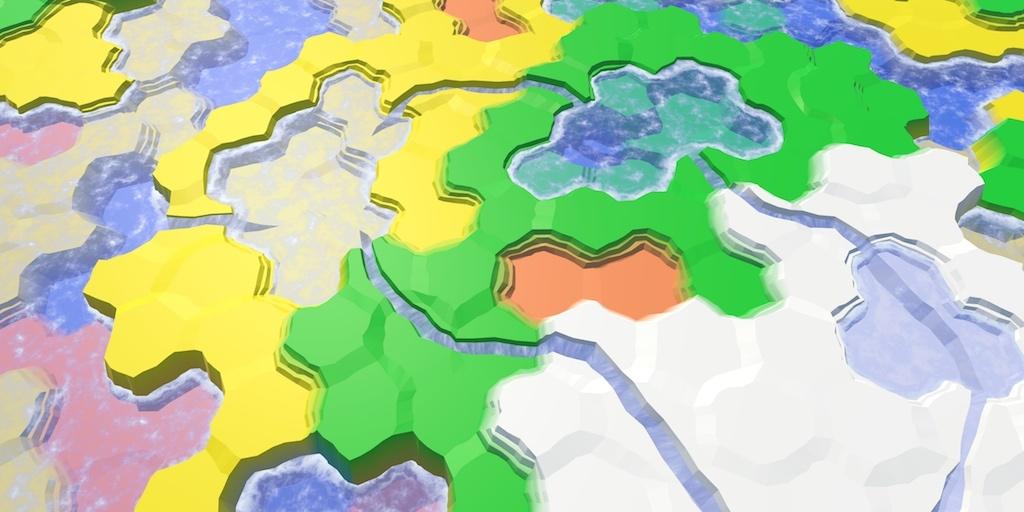 Карты из шестиугольников в Unity: вода, объекты рельефа и крепостные стены - 1
