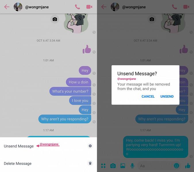 Facebook Messenger перенял у других мессенджеров популярную возможность