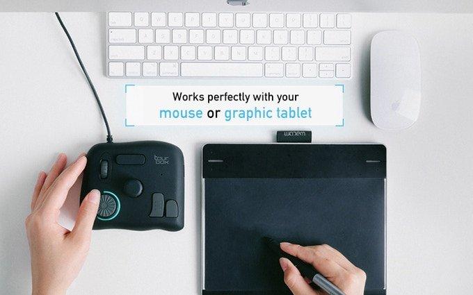 Контроллер TourBox ускоряет редактирование фотографий в программах Adobe Photoshop и Lightroom