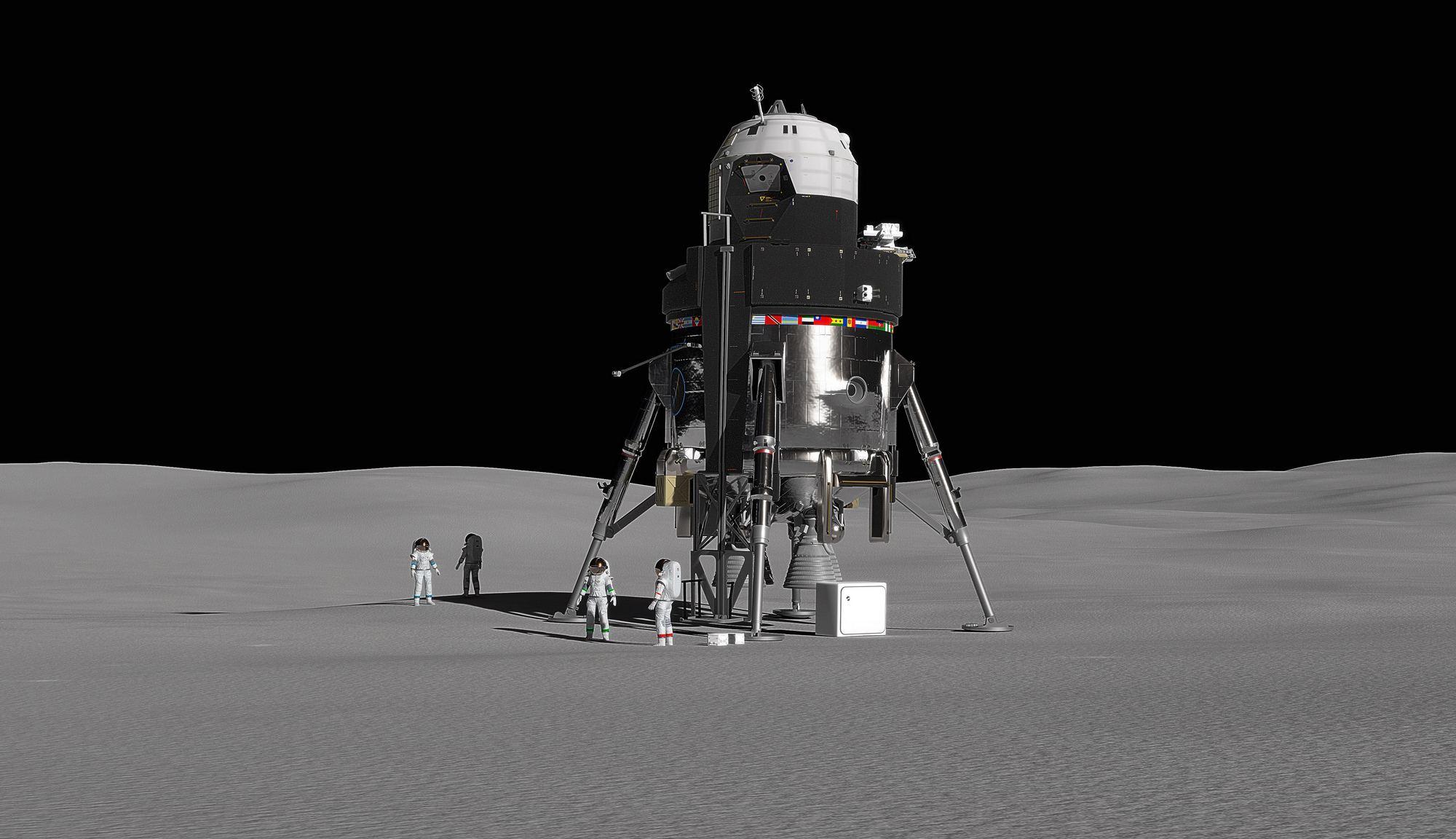 Lockheed Martin раскрывает подробности проекта посадочного лунного модуля - 1