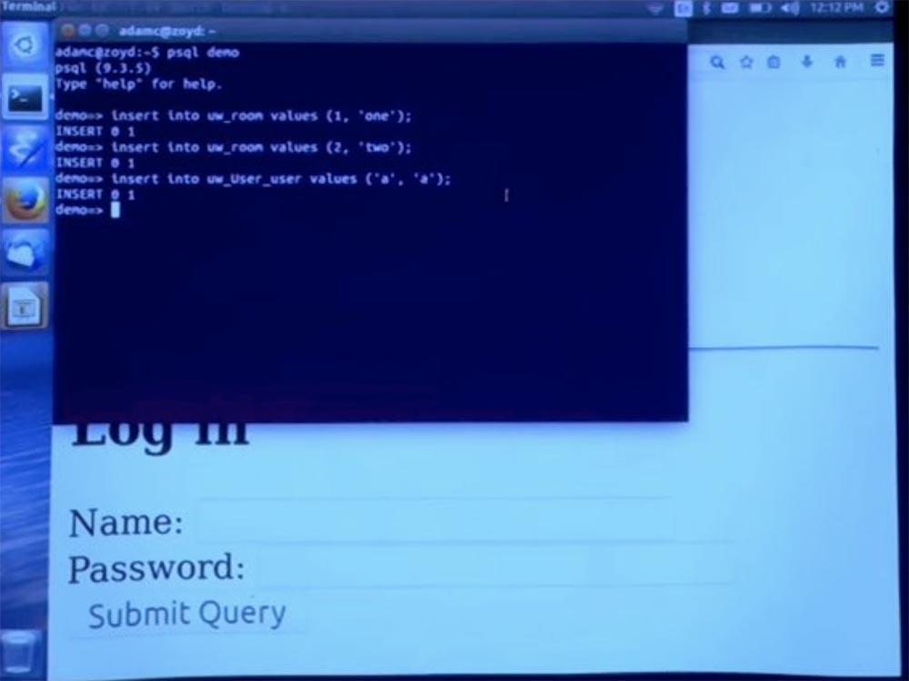 Курс MIT «Безопасность компьютерных систем». Лекция 11: «Язык программирования Ur-Web», часть 3 - 18