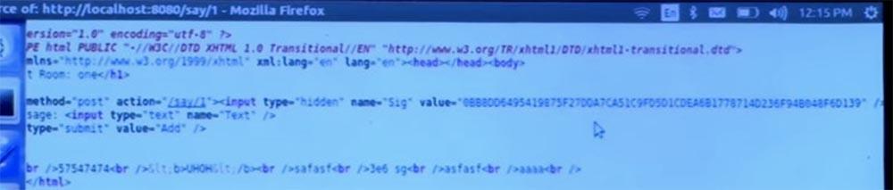 Курс MIT «Безопасность компьютерных систем». Лекция 11: «Язык программирования Ur-Web», часть 3 - 27