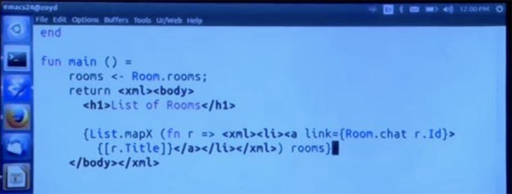 Курс MIT «Безопасность компьютерных систем». Лекция 11: «Язык программирования Ur-Web», часть 3 - 4