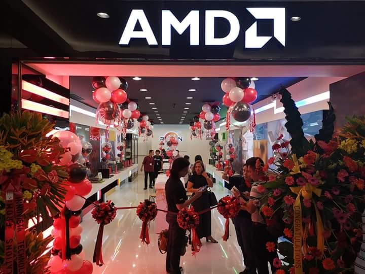 AMD открыла свой первый фирменный магазин