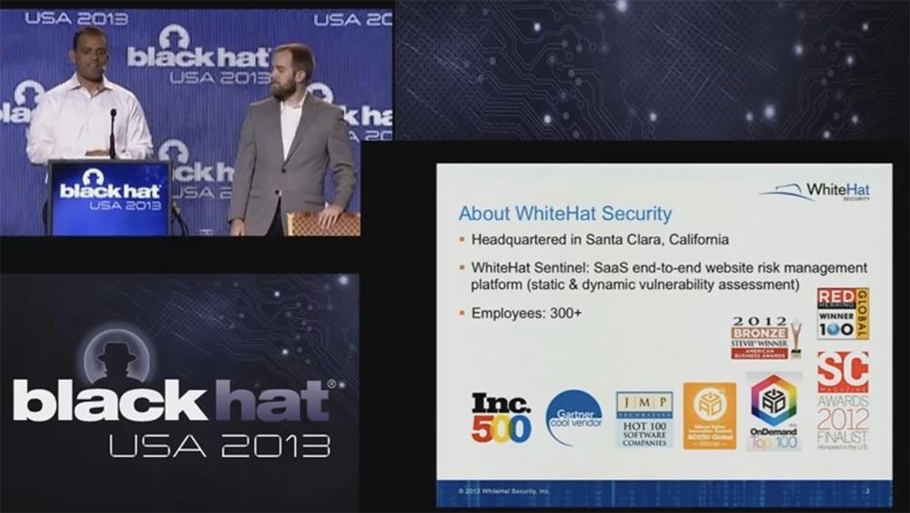 Конференция BLACK HAT USA. Ботнет из миллиона браузеров. Часть 1 - 2