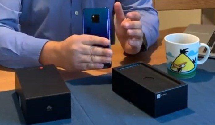 Видео дня: первая распаковка флагманского смартфона Huawei Mate 20 Pro