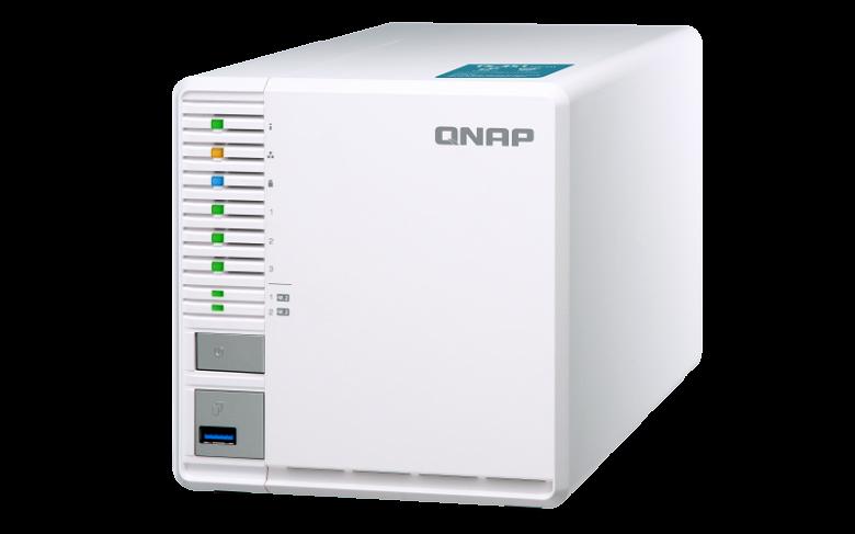 Домашнее сетевое хранилище QNAP TS-351 располагает двумя слотами M.2