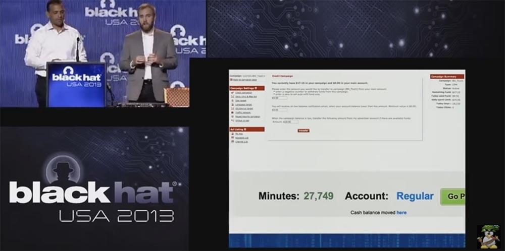 Конференция BLACK HAT USA. Ботнет из миллиона браузеров. Часть 2 - 10
