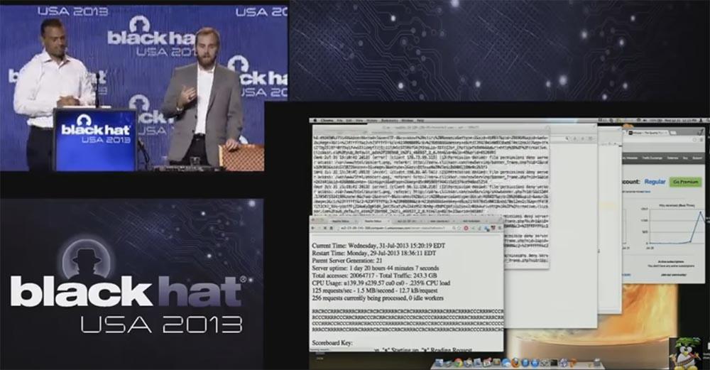 Конференция BLACK HAT USA. Ботнет из миллиона браузеров. Часть 2 - 11