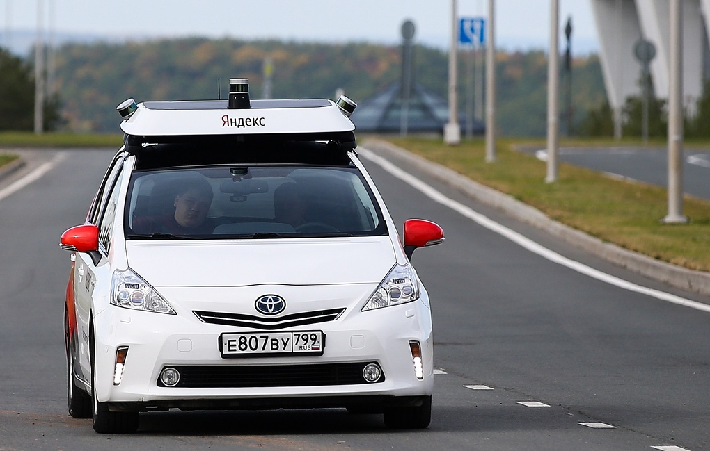 На территории «Сколково» начинает курсировать беспилотное такси от «Яндекса» - 1