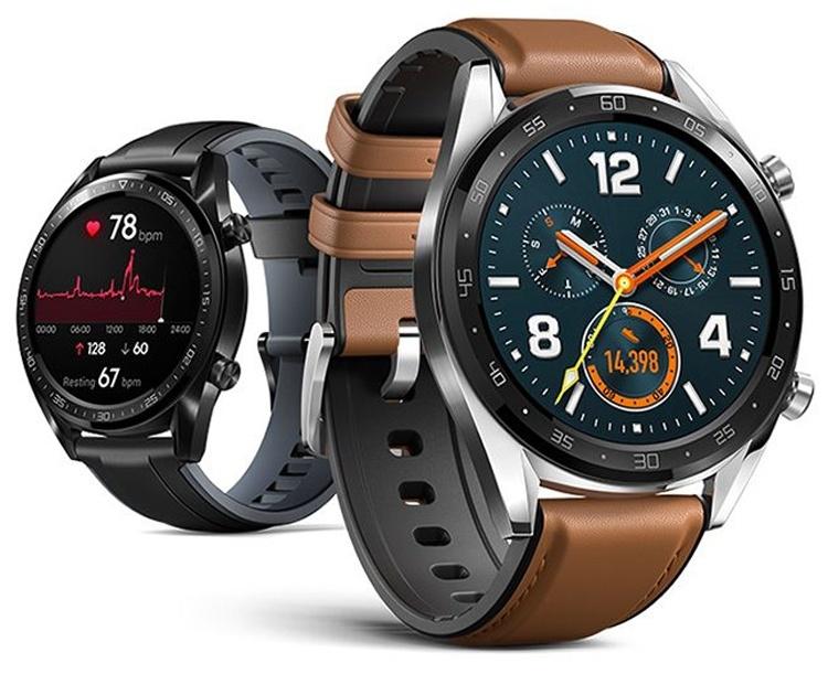Huawei Watch GT: смарт-часы с большим временем автономной работы