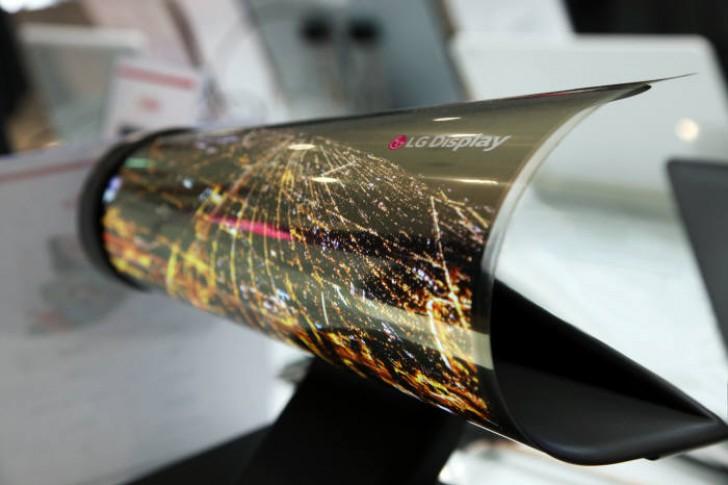 Первый сгибающийся планшет получит экран LG диагональю 13 дюймов