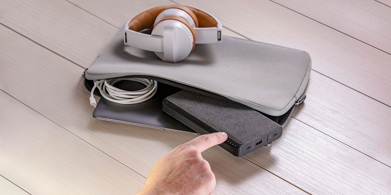Mophie powerstaion USB-C 3XL — внешний аккумулятор ёмкостью 26 000 мА·ч
