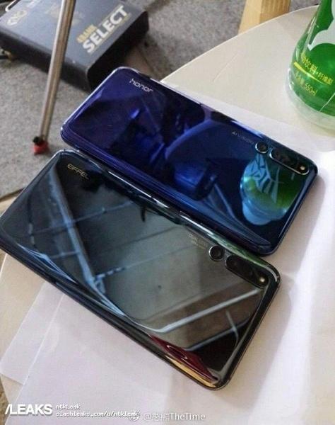 Количество тыльных камер у смартфона-слайдера Honor Magic 2 стабилизировалось на трёх