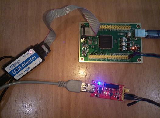 Мой Hello World! на FPGA или очередная версия UART