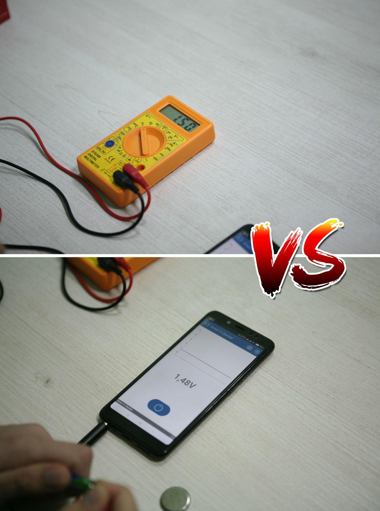 Вольтметр для батареек: карманный гаджет для смартфона с «крокодильчиками» - 3