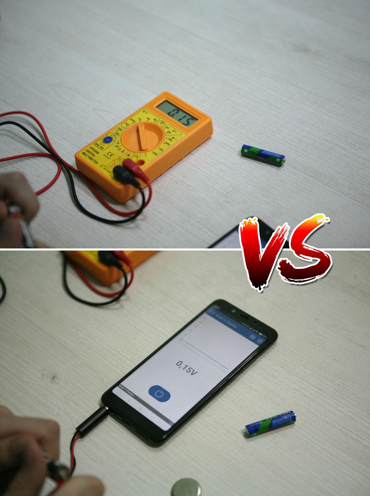 Вольтметр для батареек: карманный гаджет для смартфона с «крокодильчиками» - 4