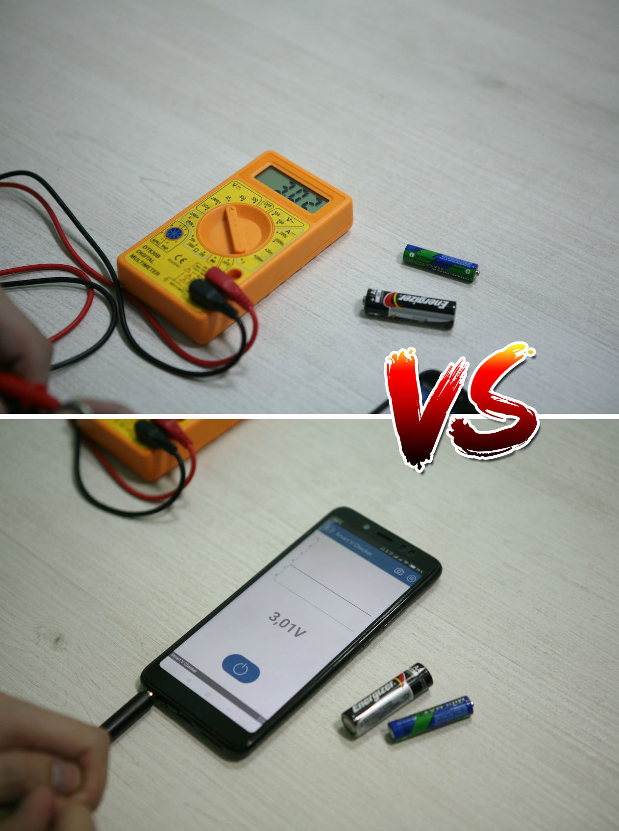 Вольтметр для батареек: карманный гаджет для смартфона с «крокодильчиками» - 5