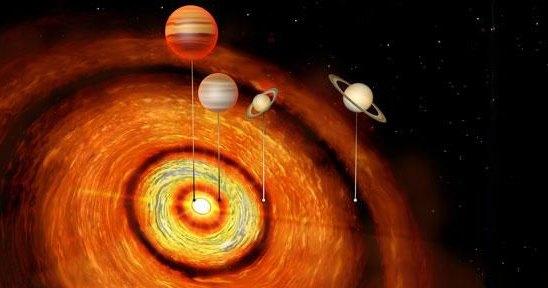 На орбите новорожденной звезды обнаружили планеты-гиганты: космическая загадка