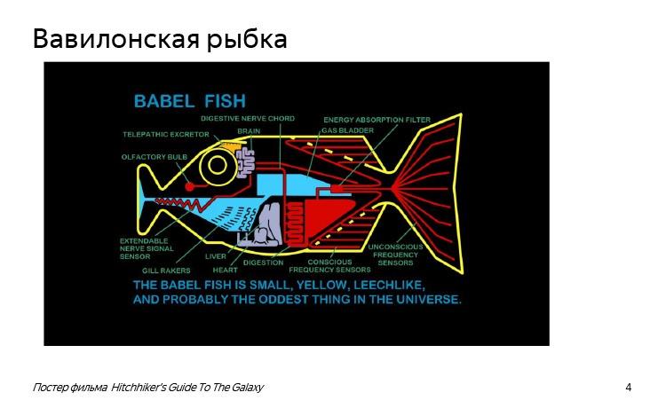 История и опыт использования машинного перевода. Лекция Яндекса - 2