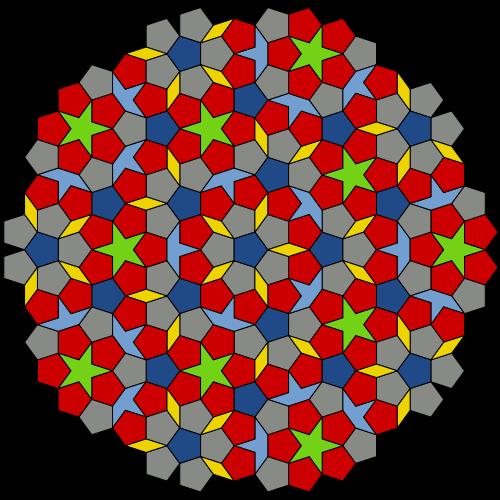 В распределении простых чисел обнаружена дифракционная картина, примерно как у квазикристаллов - 4