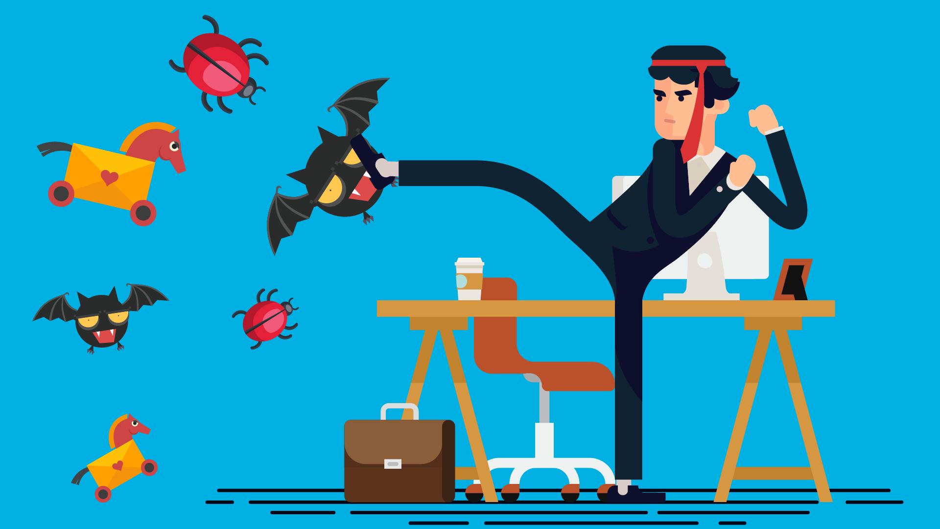 Be a security ninja: запись вебинаров и бонусный уровень - 1