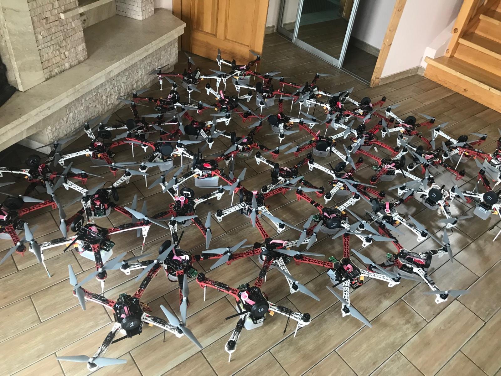 Шоу дронов: как мы координировали рой танцующих коптеров - 1