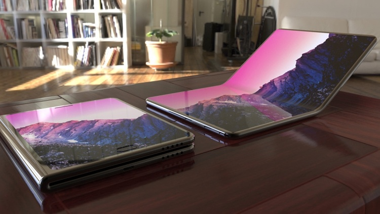 Samsung размышляет над ноутбуком с гибким дисплеем