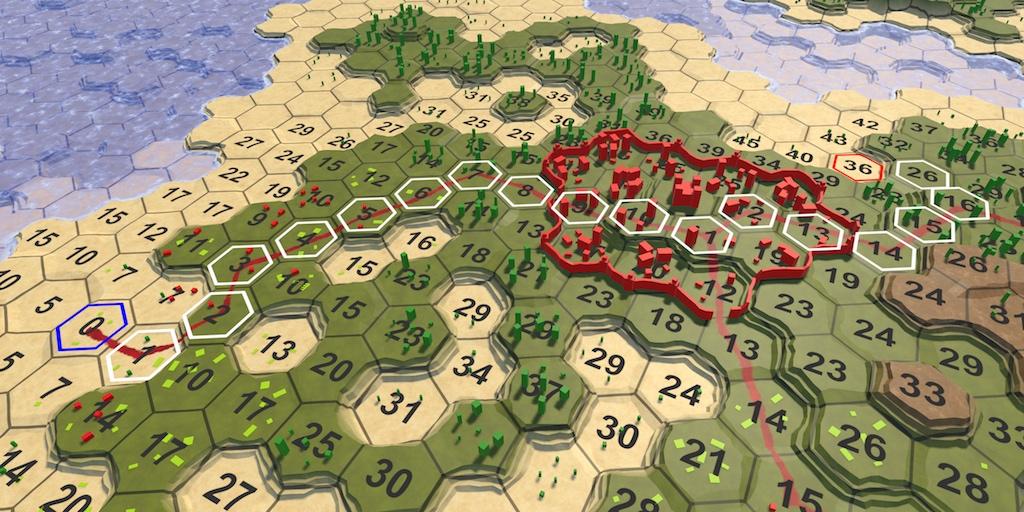 Карты из шестиугольников в Unity: поиск пути, отряды игрока, анимации - 1