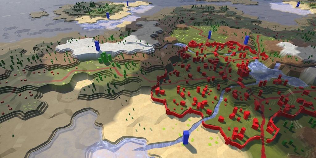 Карты из шестиугольников в Unity: туман войны, исследование карты, процедурная генерация - 1